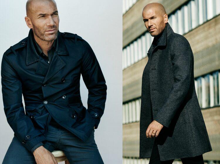 Zinédine Zidane   égérie Mango Man pour la campagne automne-hiver 2015-2016    Femme Actuelle Le MAG a96e7892da36