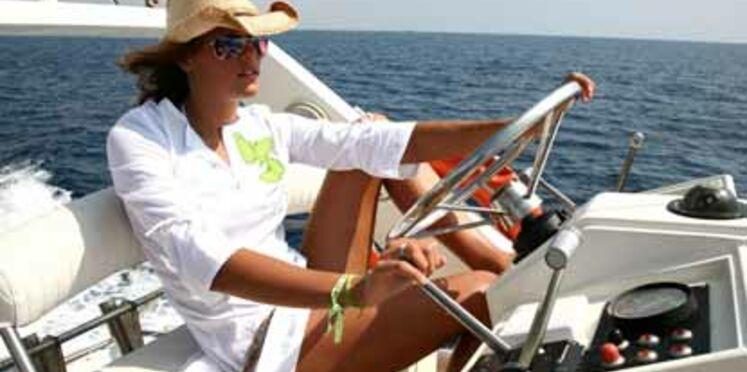 A la plage avec Laure Manaudou