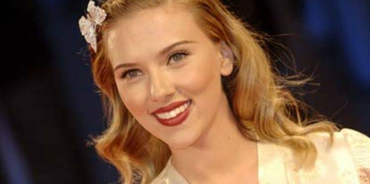 Scarlett Johansson,  nouvelle fiancée de Vuitton
