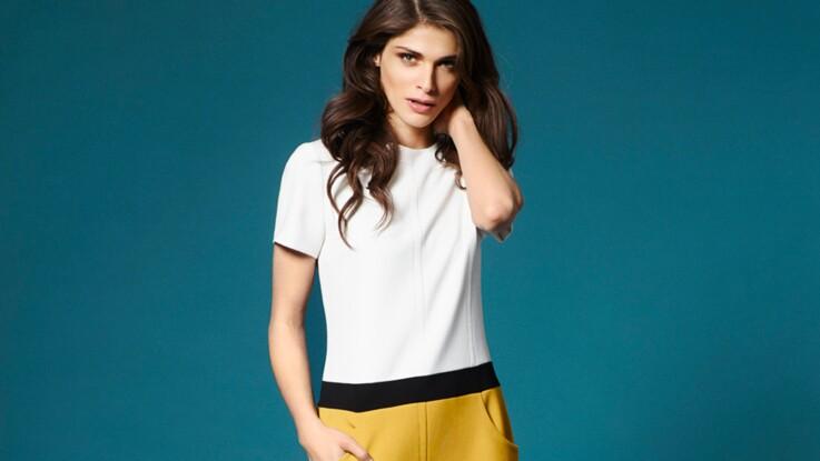Elisa Sednaoui, égérie glamour pour 1.2.3