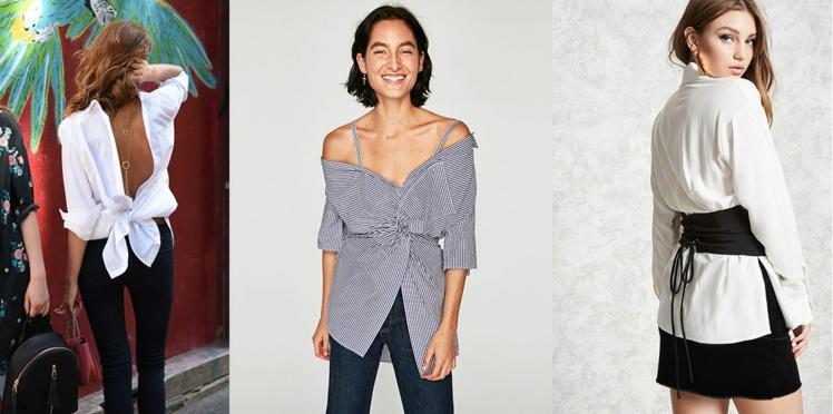 5 façons très stylées de porter une chemise et 15 looks pour les adopter