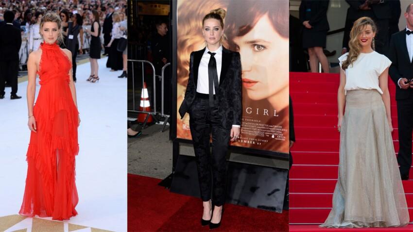 Amber Heard en 10 looks