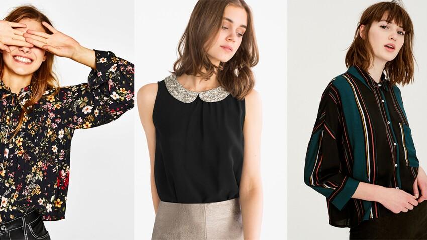 15 belles chemises à col à porter sous un pull