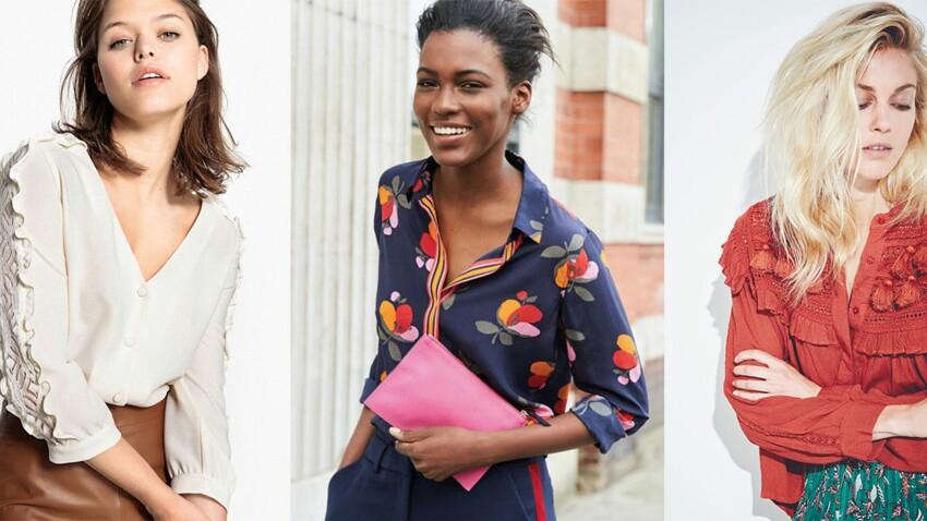 Blouses & chemises : les nouveautés tendance à ne pas manquer