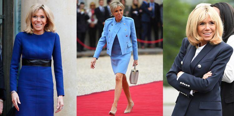 Brigitte Macron, toujours en bleu : savez-vous pourquoi ?