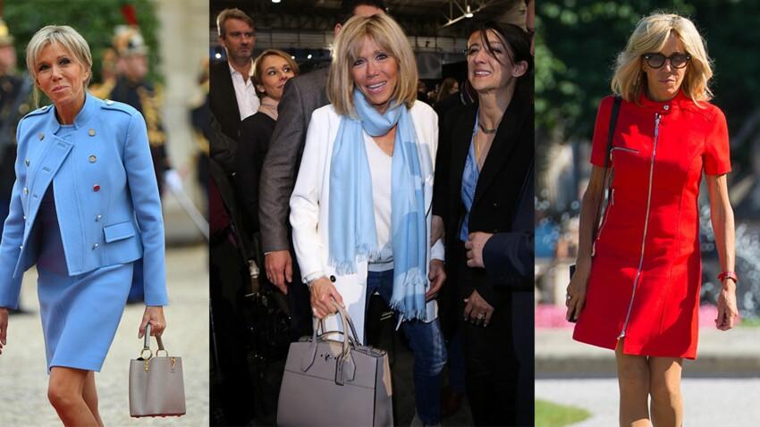 Brigitte Macron est une Première dame stylée, la preuve en 30 looks !