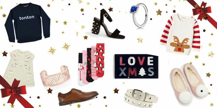 Noël 2017 : 50 cadeaux mode pour toute la famille et tous les budgets !