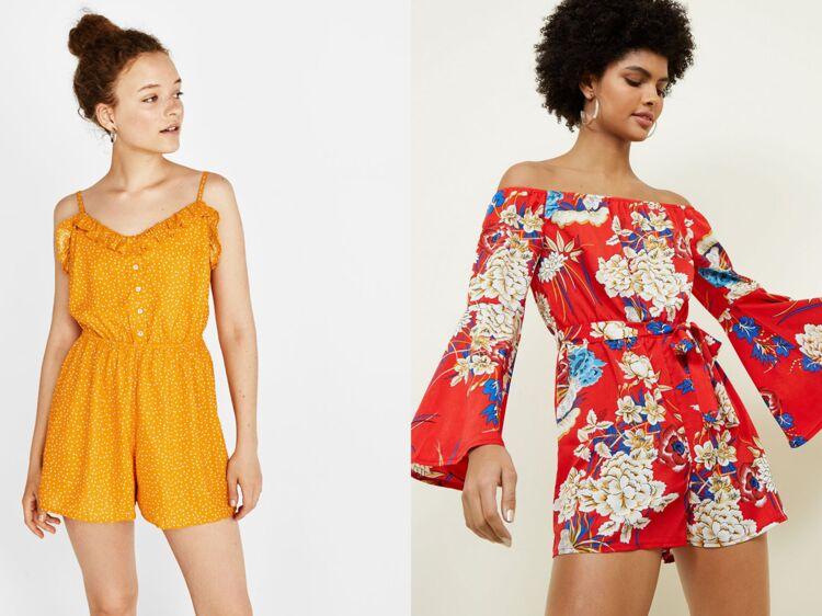 52c231f2b56489 Le combishort, un must-have de l'été : 20 modèles tendance pour l'adopter :  Femme Actuelle Le MAG