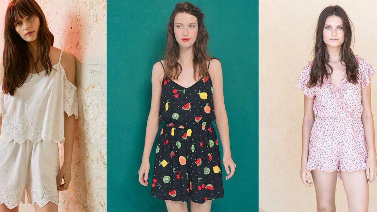 Tendance combishort : les plus jolis modèles du printemps