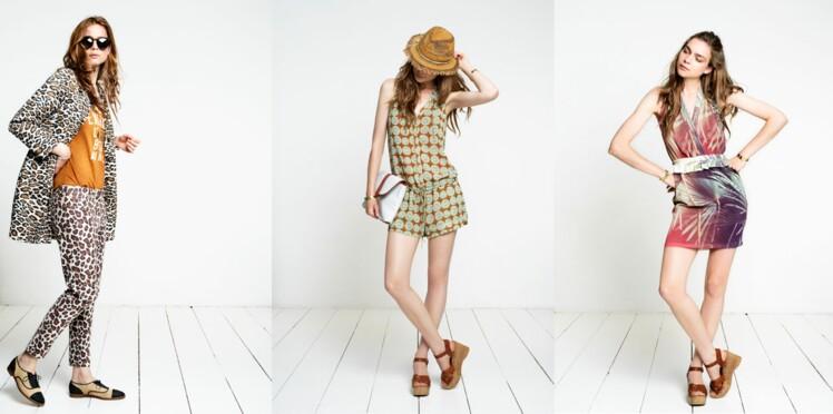 Belle en mode jungle