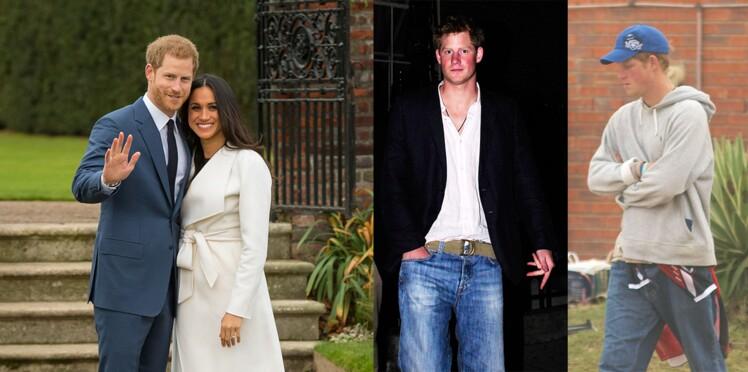 Meghan Markle a relooké le prince Harry : zoom sur sa transformation tendance en 30 photos avant/après