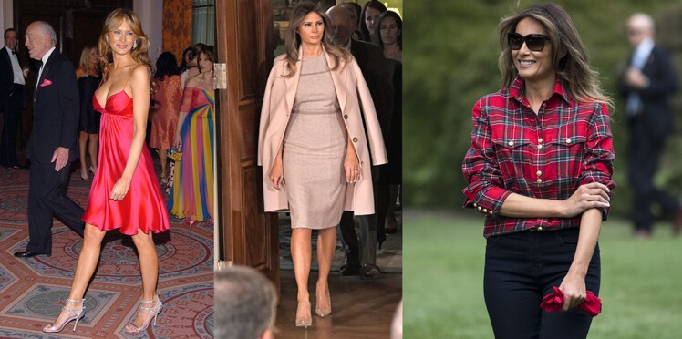 L'évolution mode de Melania Trump : de miss sexy à First Lady !