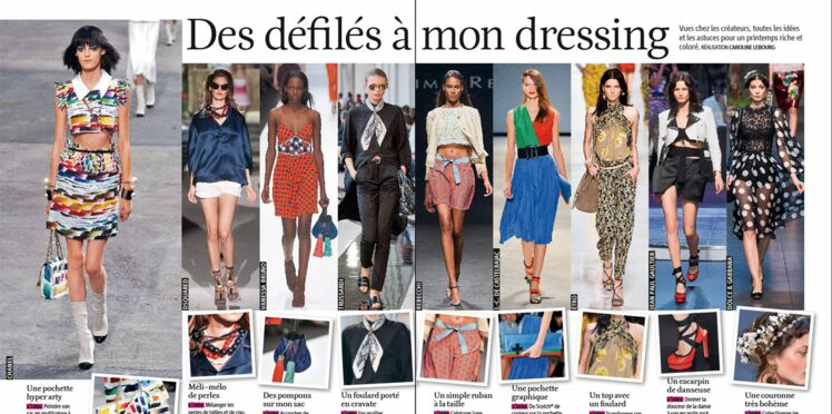 Femme actuelle spécial mode : le magazine et son contenu enrichi