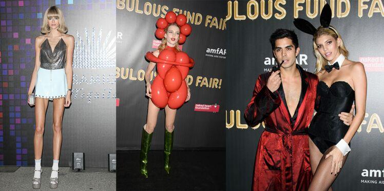 Amal Clooney, Cindy Crawford et sa fille… : découvrez les déguisements des stars pour les soirées d'Halloween Amfar & cie