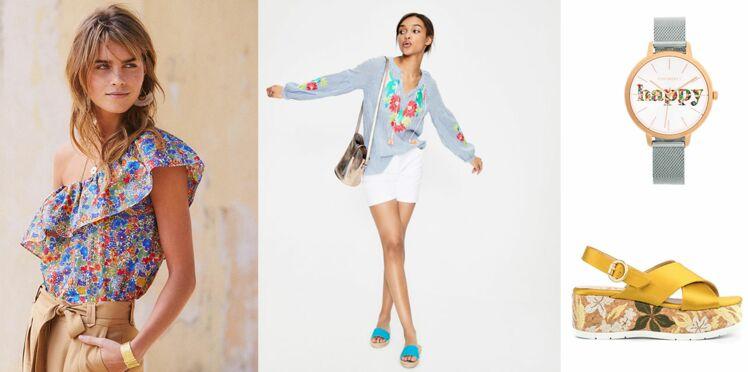 Imprimé fleuri : 50 pièces mode et accessoires à shopper cette saison