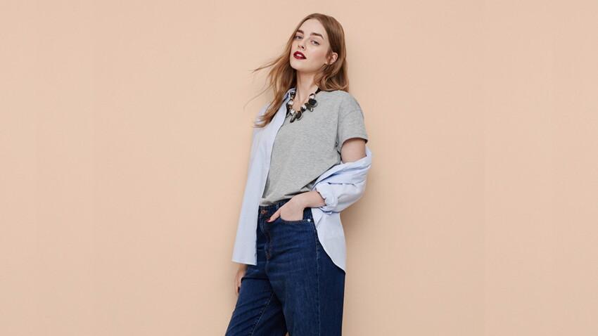 Mode ronde : le top des jeans grandes tailles