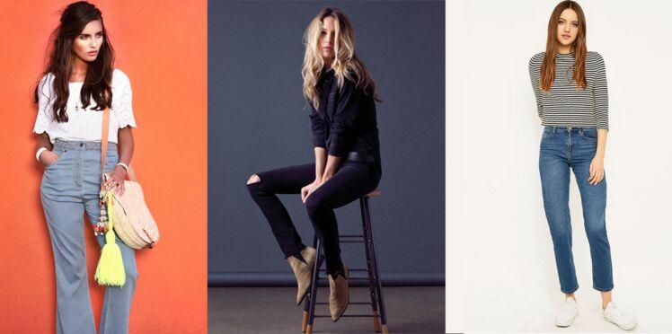 Jeans : 50 nouveautés tendance