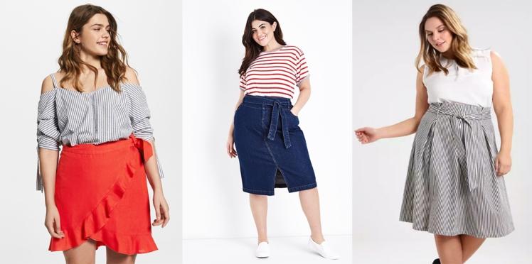 Mode ronde : 20 jolies jupes estivales pour mettre en valeur vos formes