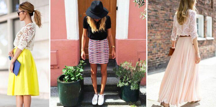 Jupes d'été : jolis looks repérés sur Pinterest