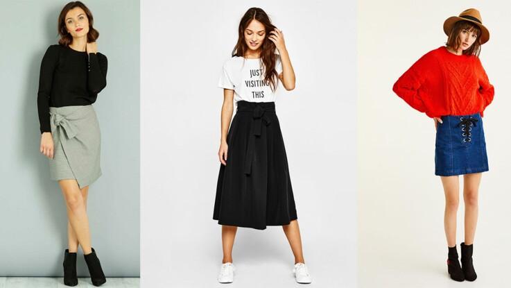 169863b4962b76 15 jupes tendance à moins de 30 euros : Femme Actuelle Le MAG
