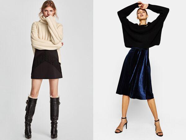 Comment porter la jupe en hiver en 10 looks femme actuelle le mag - Que porter avec une jupe crayon ...