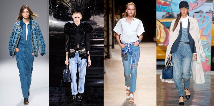 Le denim envahit les podiums printemps-été 2014