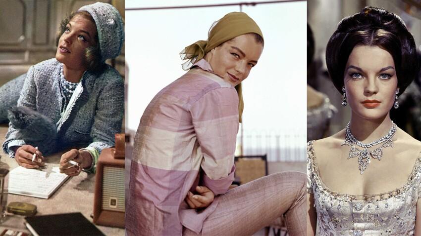 Des plateaux de cinéma aux redcarpet : (re)découvrez les plus beaux looks de Romy Schneider