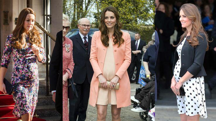 Kate Middleton est à nouveau enceinte ! Retour sur ses plus beaux looks de grossesse pour célébrer l'événement