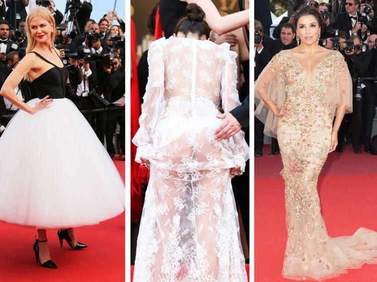 Festival de Cannes  le meilleur et le pire des looks de stars  Femme  Actuelle Le MAG