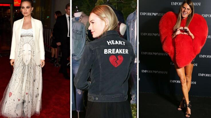 Tendance cœur : quand les stars se mettent en mode love !