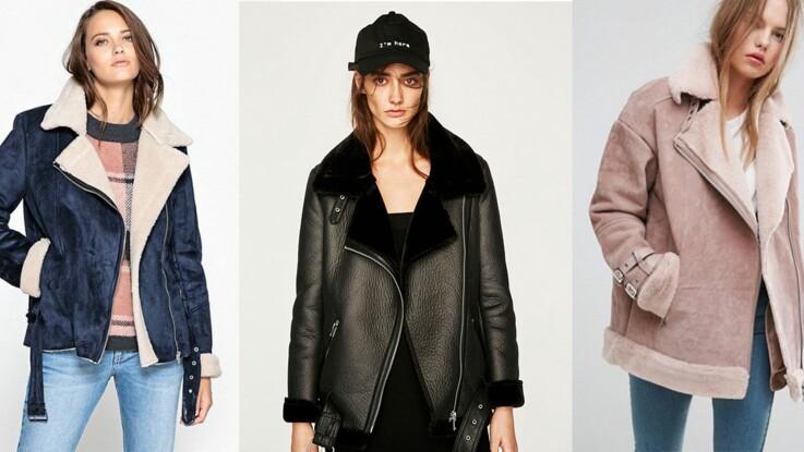 Veste en peau lainée : 15 modèles au top de la tendance qui nous font craquer