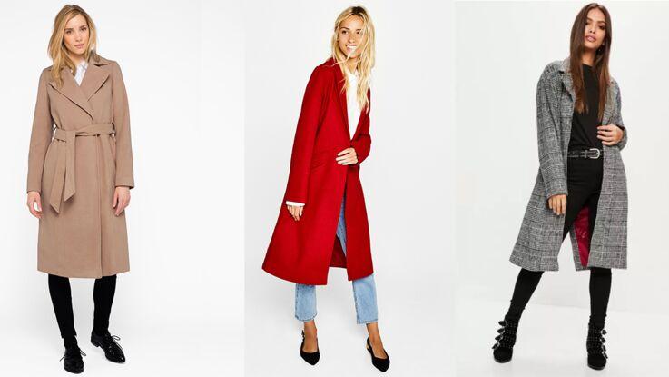 15 manteaux longs à petit prix pour avoir bien chaud sans se ruiner