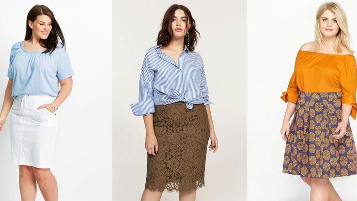 Mode ronde : 10 jolies jupes pour mettre en valeur vos formes