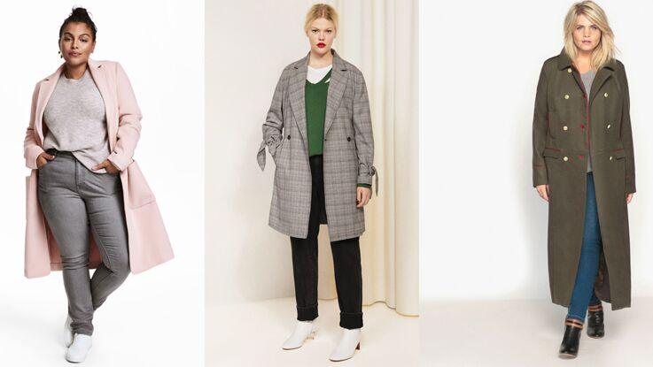 Mode ronde : 20 manteaux pour sublimer vos formes en ayant bien chaud