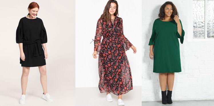 Mode ronde : 15 robes d'hiver pour sublimer vos formes