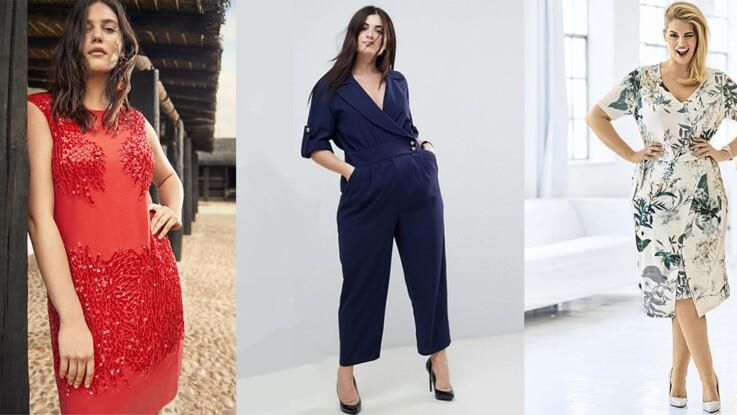 nouveau style et luxe grande vente luxe 25 tenues de cérémonie canons pour les rondes : Femme ...