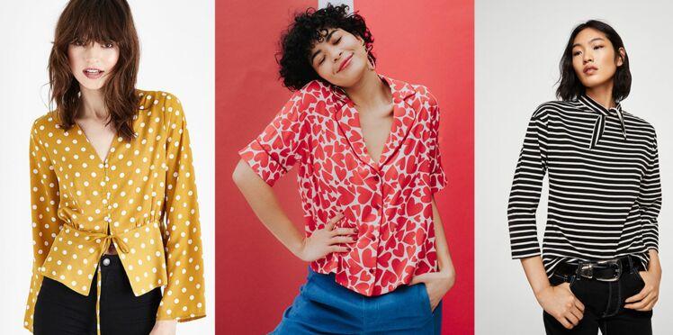 Blouses et chemises : 20 nouveautés des collections printemps-été à porter dès aujourd'hui