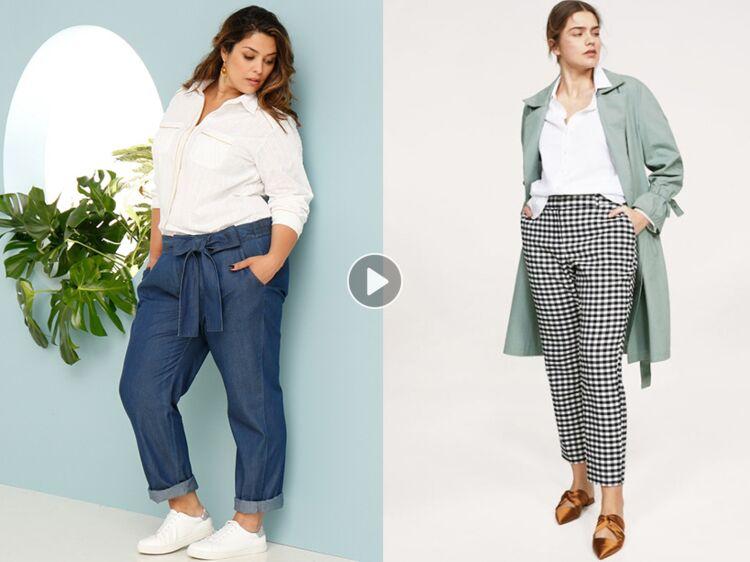 pantalon grande taille 20 mod les tendance pour mettre en valeur les rondeurs femme actuelle. Black Bedroom Furniture Sets. Home Design Ideas