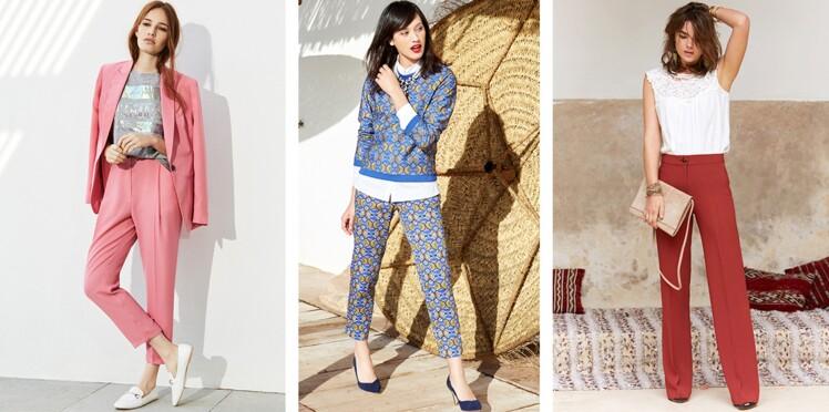 Pantalons : en avant les modèles légers et colorés !