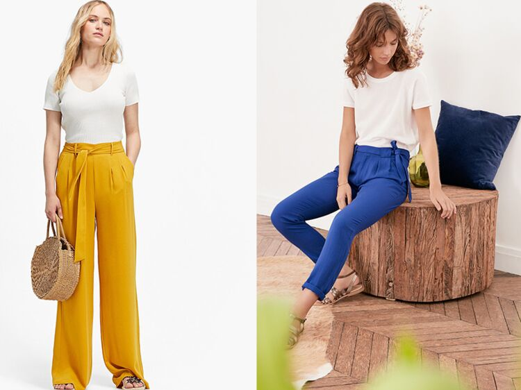 682873f3c 20 pantalons fluides et colorés pour être chic et à l'aise cet été ...