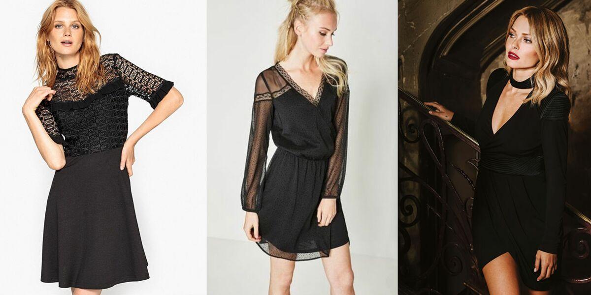 15 Petites Robes Noires Qui Changent De L Ordinaire Pour Les Fetes Femme Actuelle Le Mag