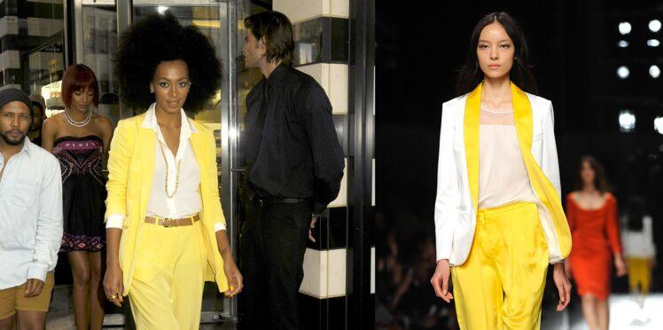 Comment porter la tendance jaune citron