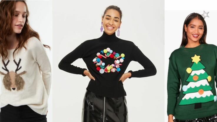 0f303da11a1c5 Journée internationale du pull de Noël   15 modèles kitsch pour se la jouer  Bridget Jones