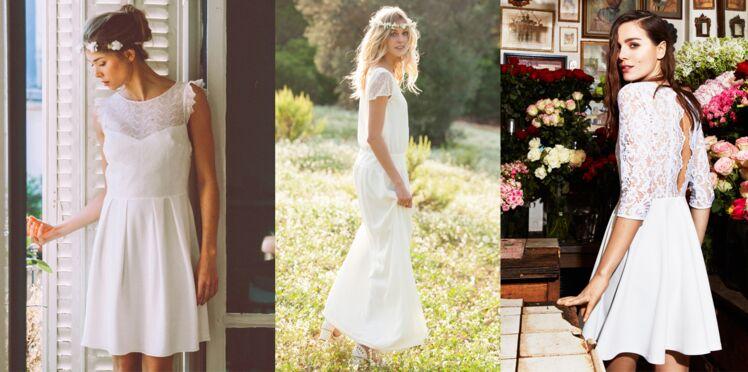 Robe blanche : 25 idées pour un mariage à prix doux