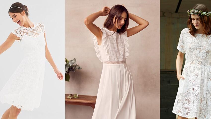Robe blanche : 25 idées chic pour un mariage à prix doux