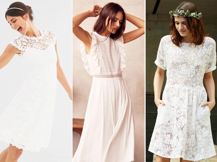 9159ce99e42 Robe blanche   25 idées chic pour un mariage à prix doux   Femme Actuelle  Le MAG