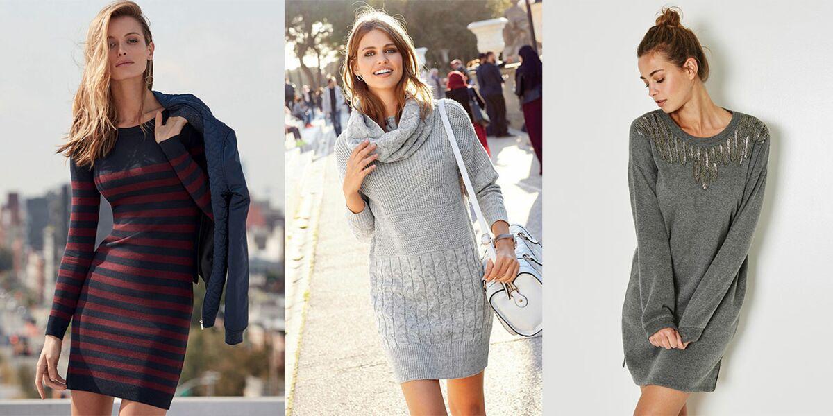 15 Robes Pull Pour Mettre Son Indispensable A L Heure D Hiver Femme Actuelle Le Mag