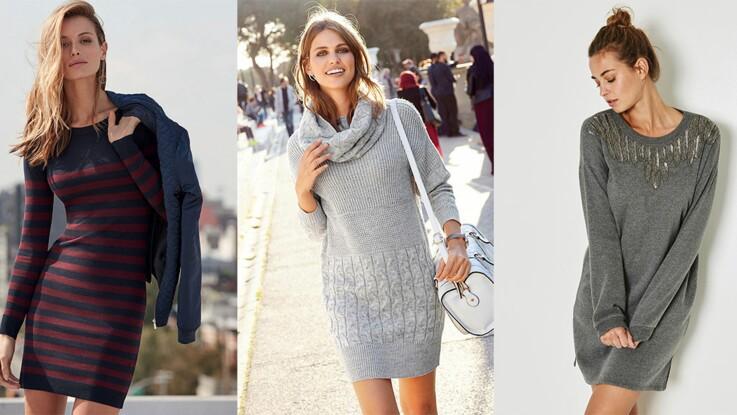 15 robes pull pour mettre son indispensable à l'heure d'hiver