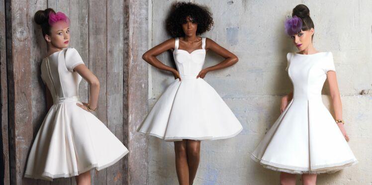 Robes blanches : idées chics et originales pour jolies mariées !