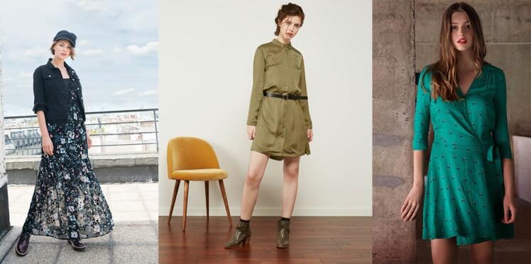 36079a333e Robe : 20 modèles tendance pour la mi-saison : Femme Actuelle Le MAG